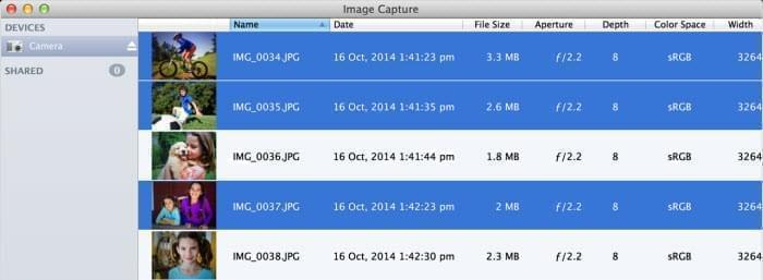 convert with image capture