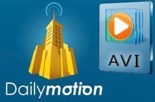 dailymotion to avi