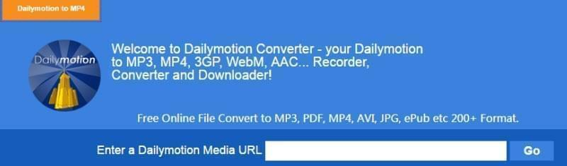 dailymotion to mp4 online