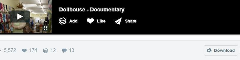 download vimeo on page