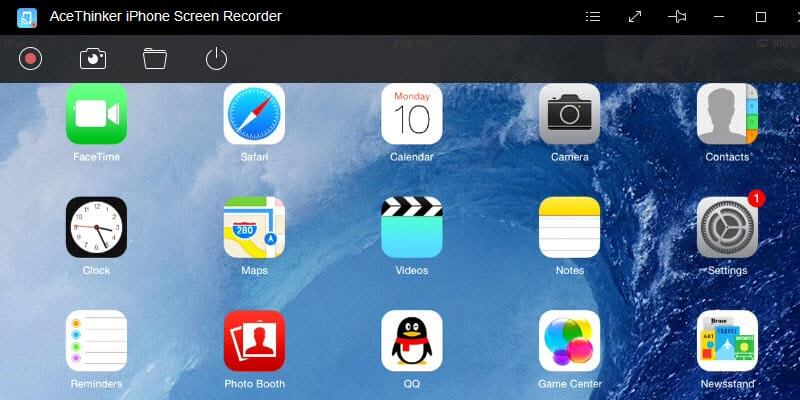 record iphone/ipad screen