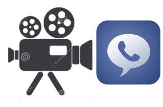 record facebook call video