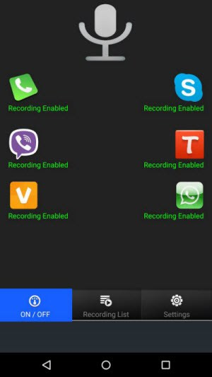 record-viber-android