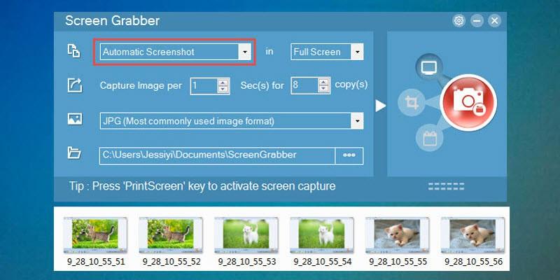 automatic screenshots