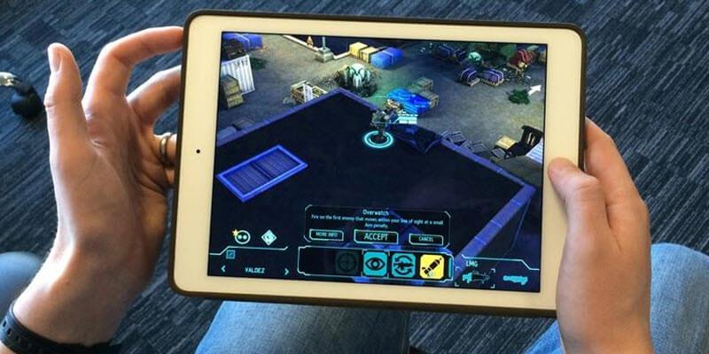 snapshot on ipad screen
