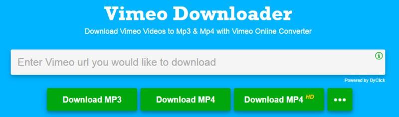vimeo to mp3 app