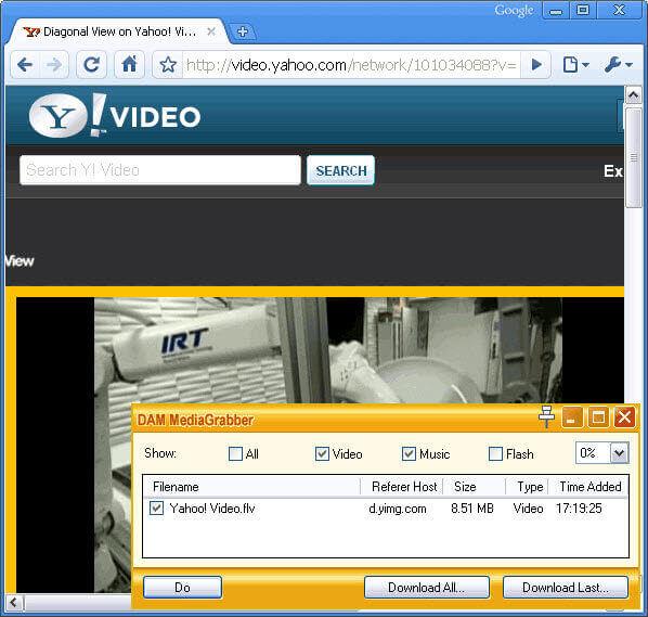 DAM Download Yahoo
