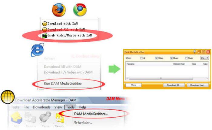 DAM Downloader Install