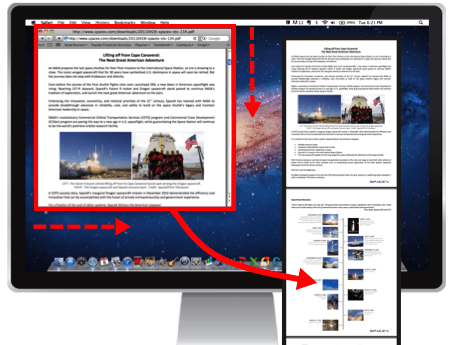 capture webpage