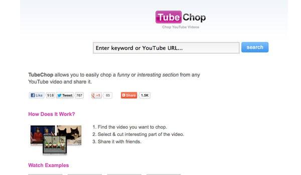 tube chop video