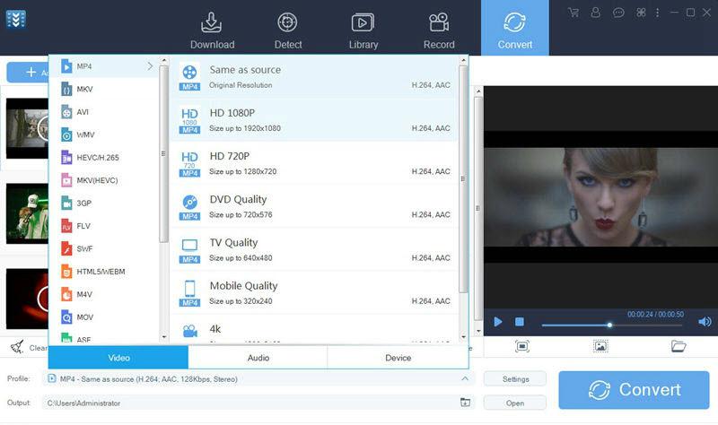 video keeper convert video