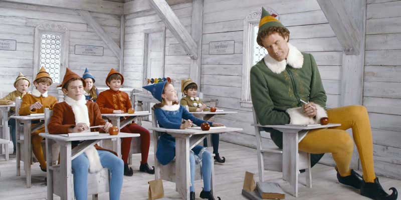 elf movie christmas