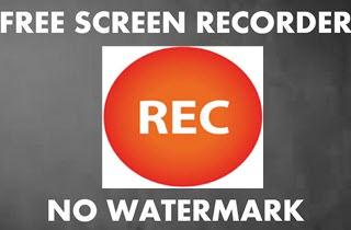 screen recorder for mac free download no watermark