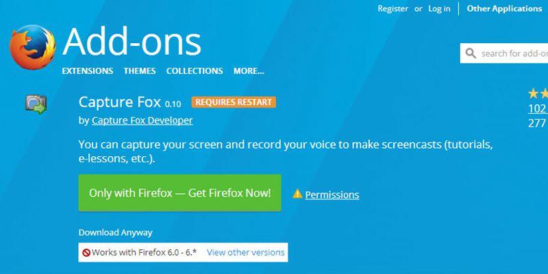 Capture fox free download for windows 10, 7, 8/8. 1 (64 bit/32 bit.